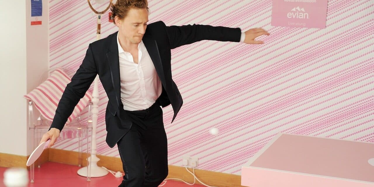 Tom Hiddleston plays Ping Pong