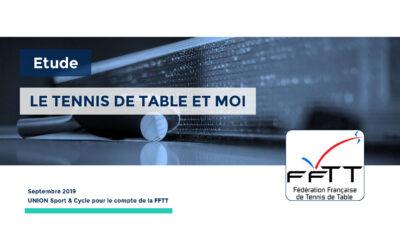 Etude «Le tennis de table et moi»