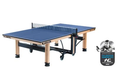 WOOD COMPETITION ITTF BLUE - label HC