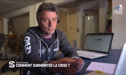 Le club de l' ASRTT Etival Tennis de Table, invité dans l'émission Stade 2 de France TV Sport