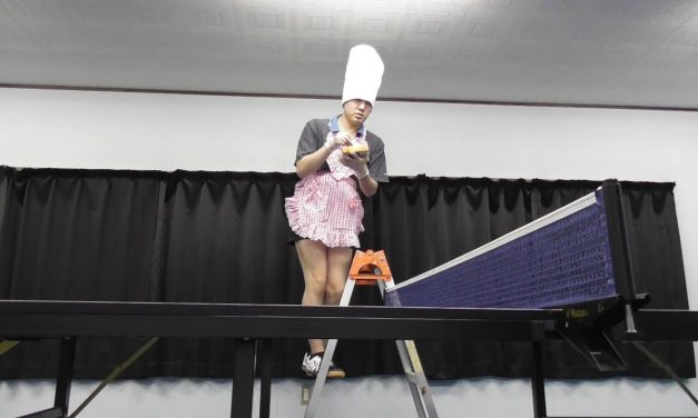 TAKKYUU GEININ, le japonais le plus drôle du Ping-Pong