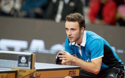 Pleins feux sur Simon Gauzy – meilleur joueur de  BUndesliga en 2020-2021