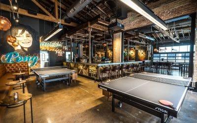 Spin Austin, Bar Ping Pong très branché !