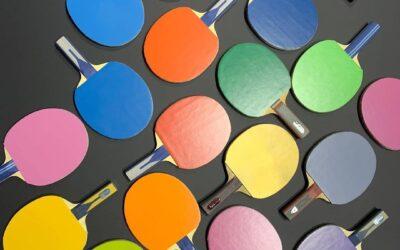 4 nouvelles couleurs de revêtement au tennis de table