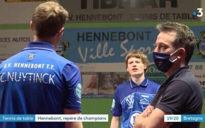 Reportage sur les joueurs d'Hennebont tennis de table